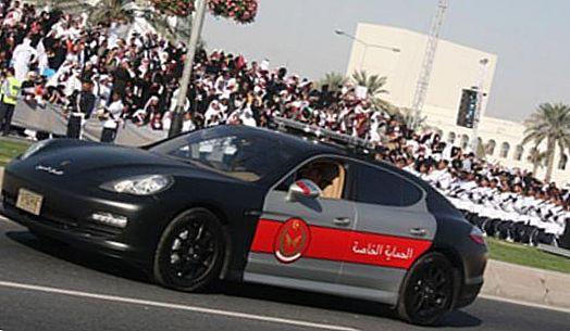 Картинки по запросу Porsche Panamera полиция катар