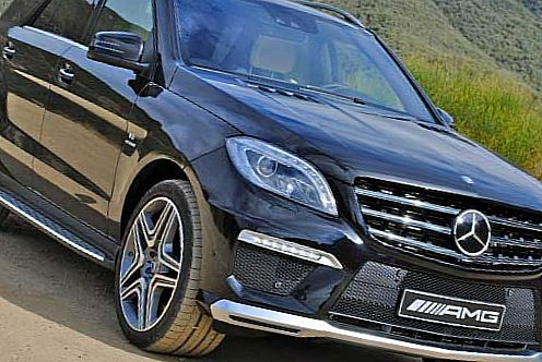 Mercedes-Benz ML63 AMG - от $98 175